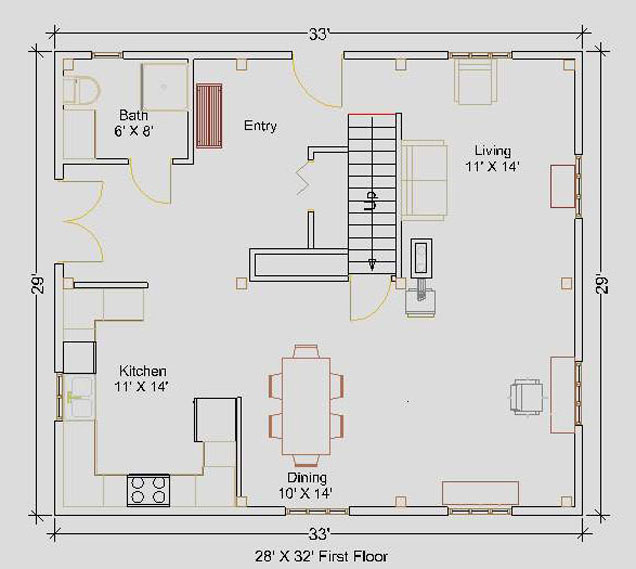 28 39 x32 39 cape first floor floorplan