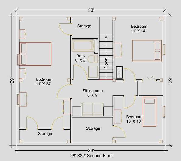 28 X 32 Timberframe Package Groton Timberworks