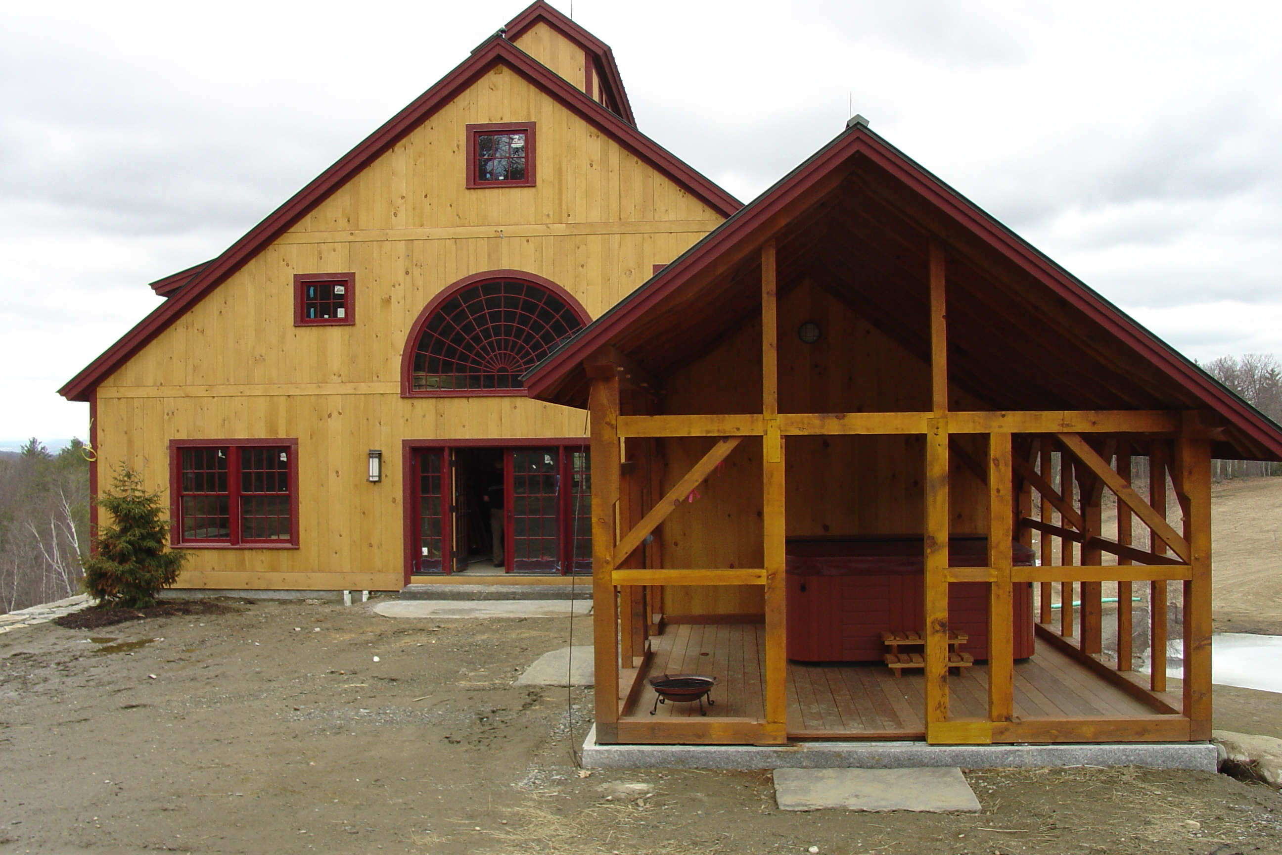 Custom barns sheds photo gallery groton timberworks for Custom barn homes