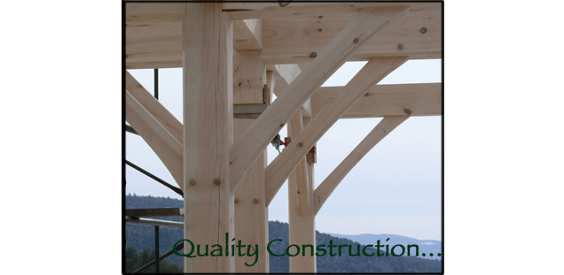 Custom Vermont Timber Frame Homes & Barns | Groton Timberworks