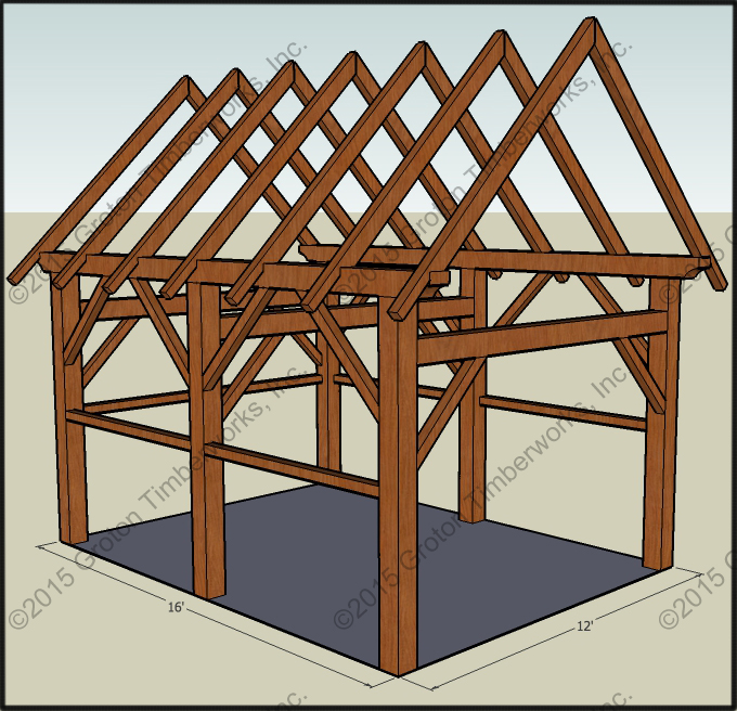 Ulisa Timber Frame Plans For Sheds